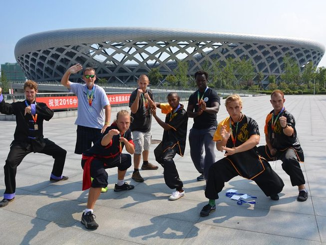21 Days Chinese Martial Arts and Learn Kung Fu in China
