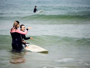 8 Days Step-Up Yoga and Surf Camp in Colares, Sintra, Portugal