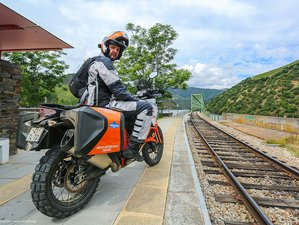 6 Days Porto and Douro Valley Experience Self-Guided Motorcycle Tour in Portugal