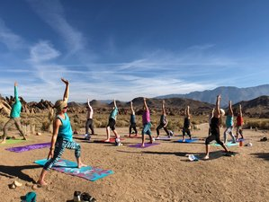 3 Day Women's Climbing and Yoga Retreat in Alabama Hills, California