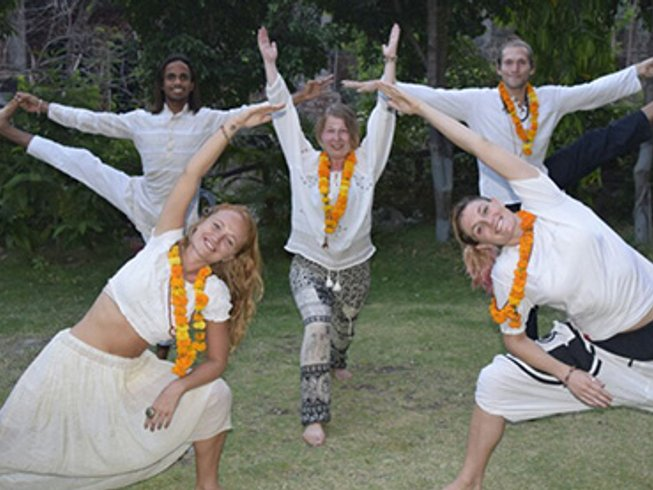 62 Days 500-Hour Yoga Teacher Training in Rishikesh, India