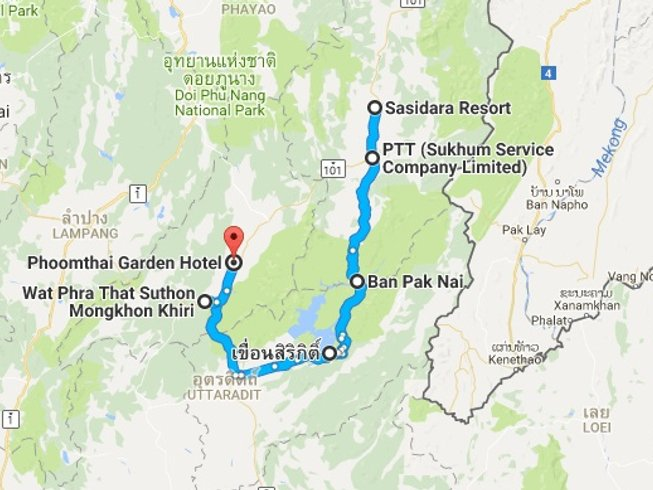 8 Days Ultimate Trails Motorcycle Tours in Thailand