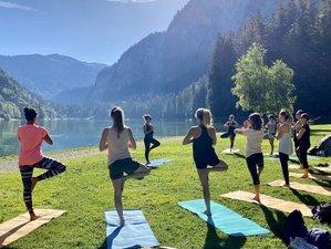 4 jours en séjour tout confort de yoga, randonnée et bien-être à Montriond, Haute-Savoie