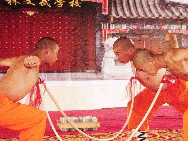 2 Years Chinese Kung Fu Training in Jilin, China