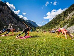 6 jours en vacances zen de yoga et randonnée à Courchevel, Alpes