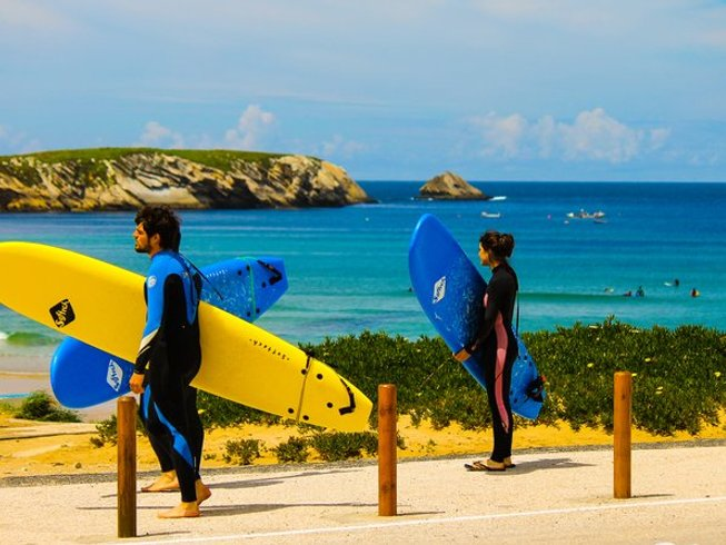 7 Days Yoga and Surf Camp in Peniche, Portugal