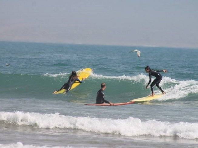 8 Days Initiation Surf Camp in Tamraght, Morocco