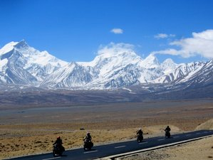 14 Days Royal Enfield Motorcycle Tour from Nepal to Tibet