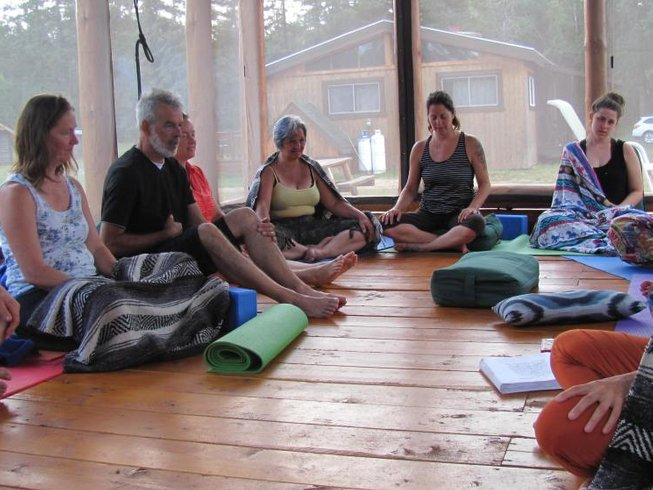 4 Days Sound Healing and Winter Yoga Retreat in Québec, Canada