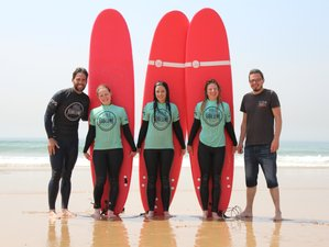 5 Day Urban Beginner Surf Retreat for Women in Alfama, Lisbon