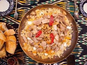 8 Day Uzbek National Cuisines Culinary Tour in in Tashkent, Khiva, Bukhara, and Samarkand