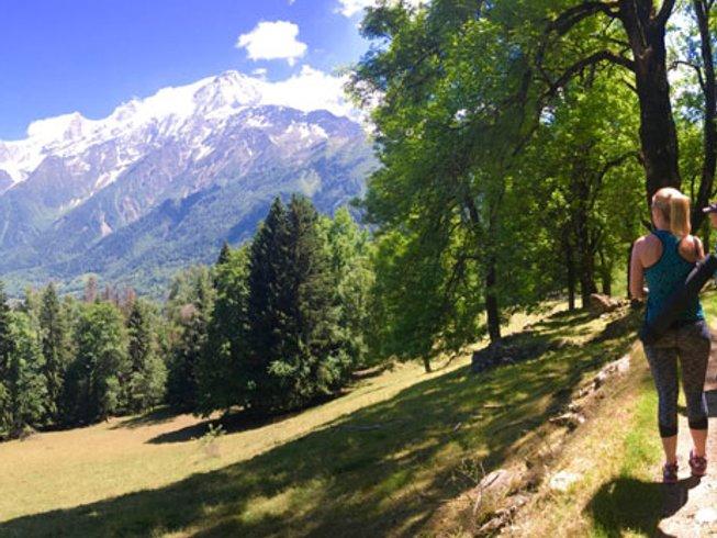 8 Days Springtime Hiking, Spa, Meditation, and Yoga Retreat in Chamonix, France