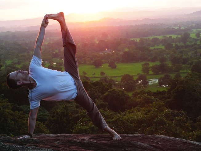 15 Days Hatha Flow Yoga Retreat in Dambulla, Sri Lanka