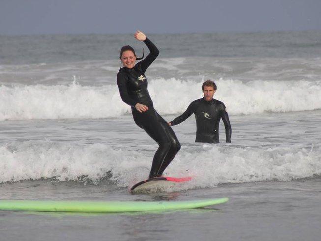 7 Days Surf Camp in France