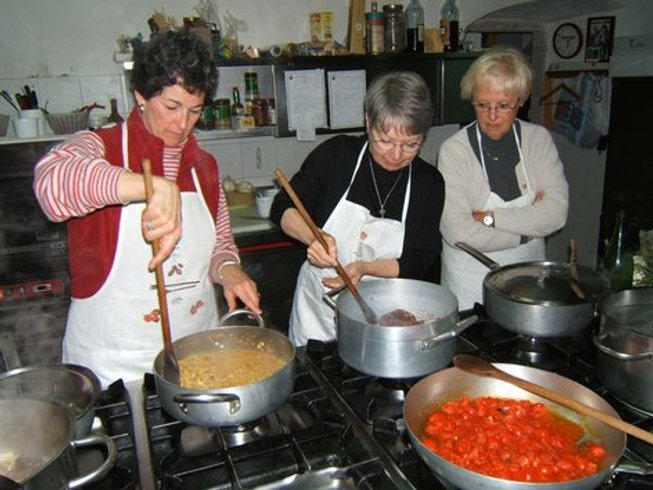 7 Days Language and Cooking Holidays in Italy