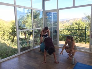 7 Day Yoga Adventure Retreat Vegan Food in the Mountains of El Chorro, Province of Malaga