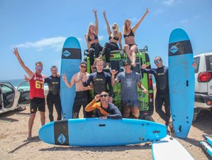 8 Day All levels Line Up Surf Camp in Corralejo, Canary Islands
