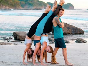 8 Day 60-Hour Acro Yoga Intensive Training at Maderas Beach