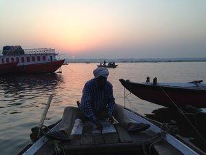 21 Días en un Viaje Vóguico con Juan Laso en India