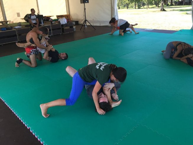 4 Days Light Training of Silent Warrior Yoga and MMA Camp in Sezzadio, Italy