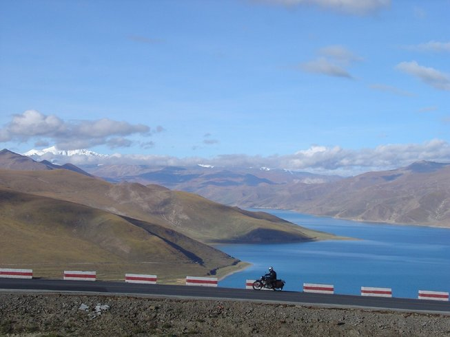 14 Days Royal Enfield Motorcycle Tour Tibet and Nepal
