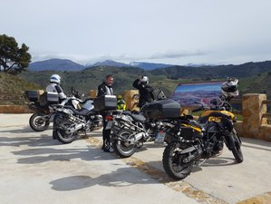 4 Day Guided Motorcycle Tour in Granada, Andalucía