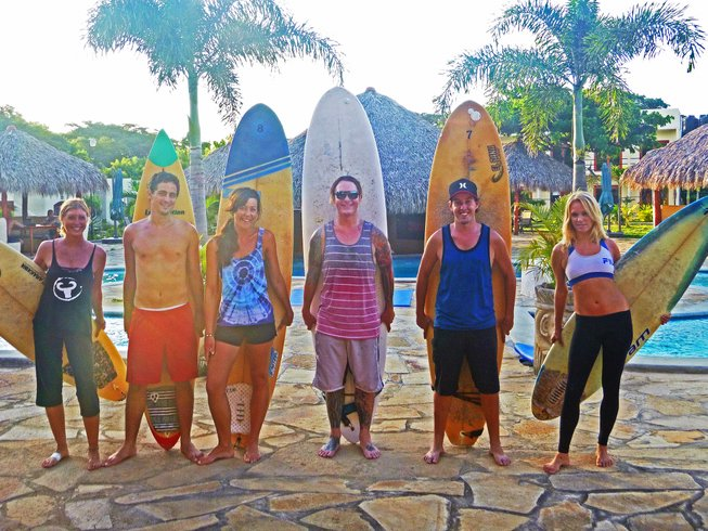 3 Days Surf and Yoga Retreat in Nicaragua