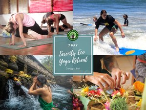 7 Day Serenity Eco Yoga Retreat in Canggu, Bali