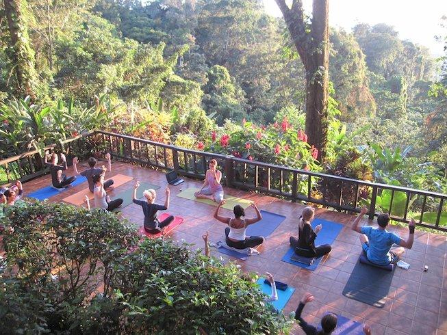 6 Days Rainforest Overlooking Caribbean Sea Yoga Retreat in Costa Rica