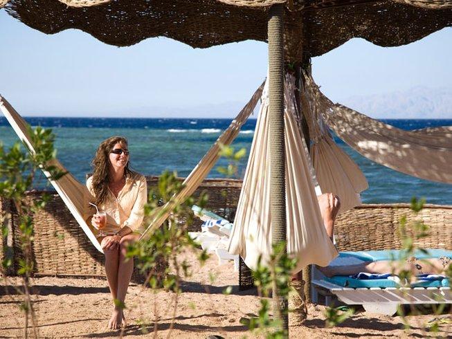 5 jours en stage de yoga à Dahab, Égypte