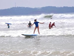 4 Day Budget Surf Camp in Weligama, Sri Lanka for Beginners and Intermediate Surfers