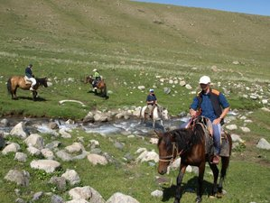 14 Day Summer Horse Riding Holiday in Kyrgyzstan