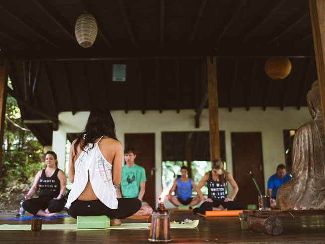 8 jours en stage de yoga au Nouvel An au Costa Rica