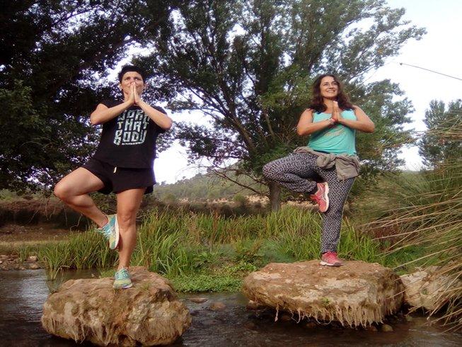 5 jours en stage de yoga spirituel à Pâques à Hortunas, Espagne