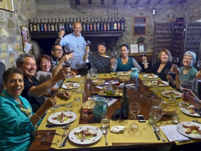 8 Days Chianti Wine & Cooking Holidays