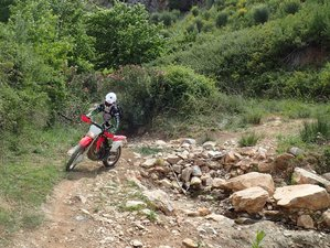 5 Day Guided Enduro Motorcycle Tour in Attica, Greece