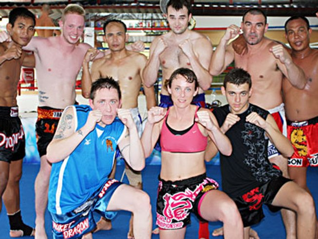 30 Days Muay Thai Camp Thailand