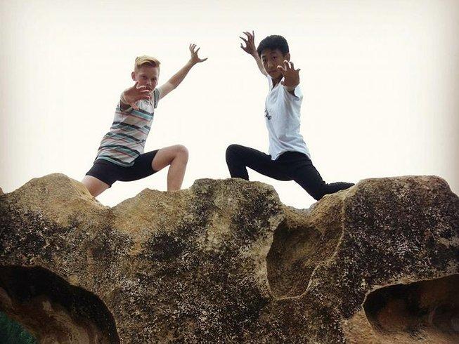 10 Months Acrobatics, Sanda, and Shaolin Kung Fu Training in Tengzhou, China