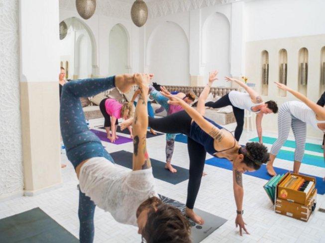 8 días viaje a través de los sentidos y retiro de yoga en Marrakech-Safi, Marruecos
