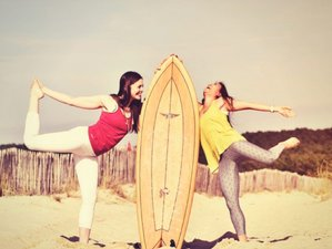 7 jours en stage de yoga et surf en Algarve, Portugal