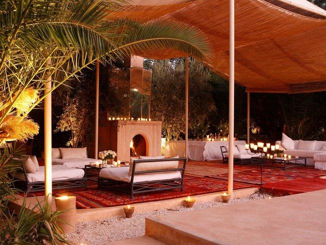 4-Daagse Palmeraie Luxury Yoga Retraite in Marrakech, Marokko