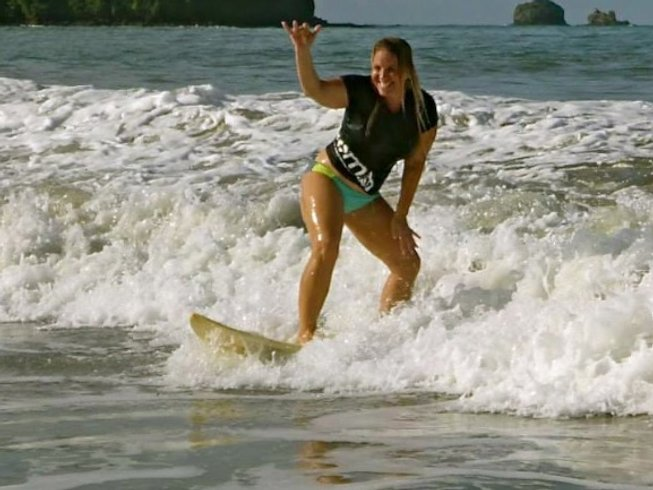 8 Days Women Only Surf & Yoga Retreat in Costa Rica