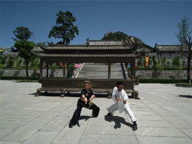 3 Years Kung Fu Training in China
