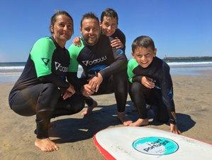 8 Days Family Surf Camp Including a 5-Day Surf Course Near Porto, Portugal