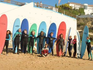8 Days Yoga, Breakfast and Surf Retreat in Portugal