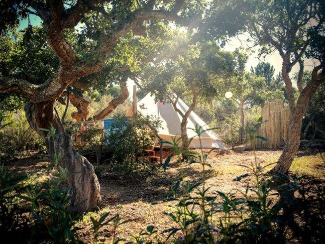 7-Daagse Luxe Kamperen, Meditatie en Yoga Retraite in Vila do Bispo, Portugal