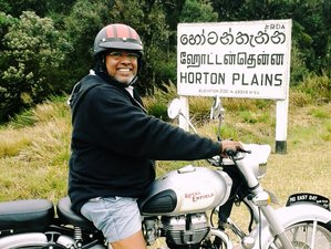 8 Days Born to Ride Motorbike Tour in Sri Lanka