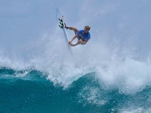 8 Day Excursions and Advance Skilled Level Surf Camp in Thulusdhoo, Kaafu Atoll