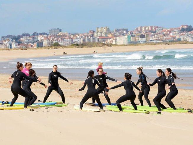 8 Days Roxy Girls Surf Camp in Spain