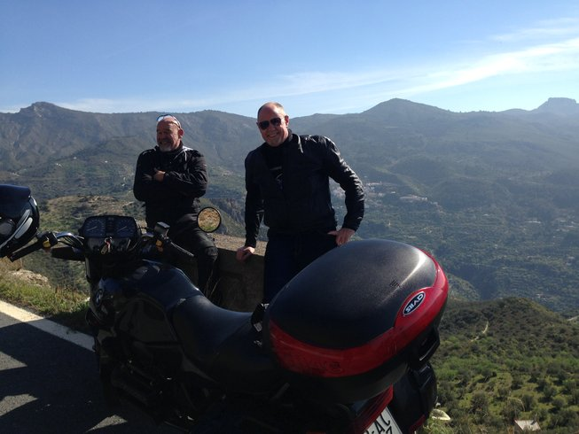 motorcycle tour andalusia